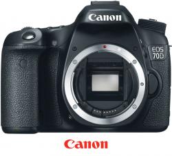 Canon EOS 70D recenze, srovnání