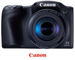 Canon PowerShot SX410 IS recenze, srovnání