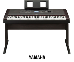 Yamaha DGX 650 recenze, srovnání