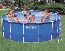 Intex Metal Frame 4,57 x 1,22m akce, cena, hodnocení, informace, levně, nejlevnější, recenze, test