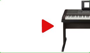 Yamaha DGX 650 recenze, video, hodnocení, zkušenosti