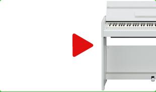 Yamaha YDP S52 WH recenze, video, hodnocení, zkušenosti